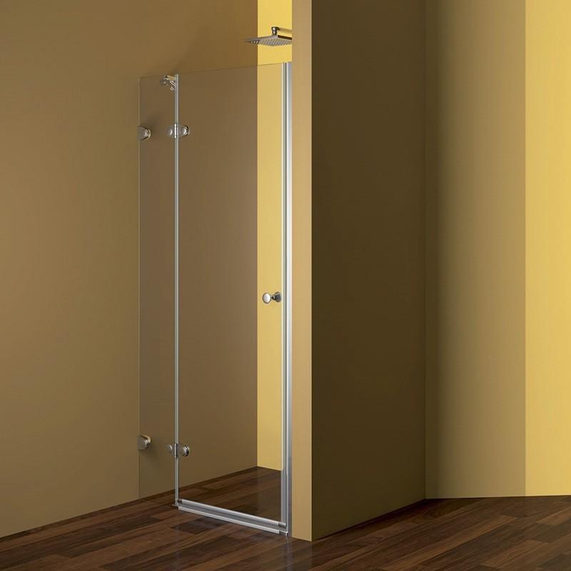 Mereo Sprchový dvere, Fantasy, 80x190 cm, chróm ALU, sklo Číre CK10120E