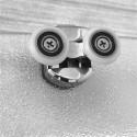 Mereo Sprchový kút, Mistica, štvrťkruh, 90 cm, R550, biely ALU, sklo Grap CK608B01H