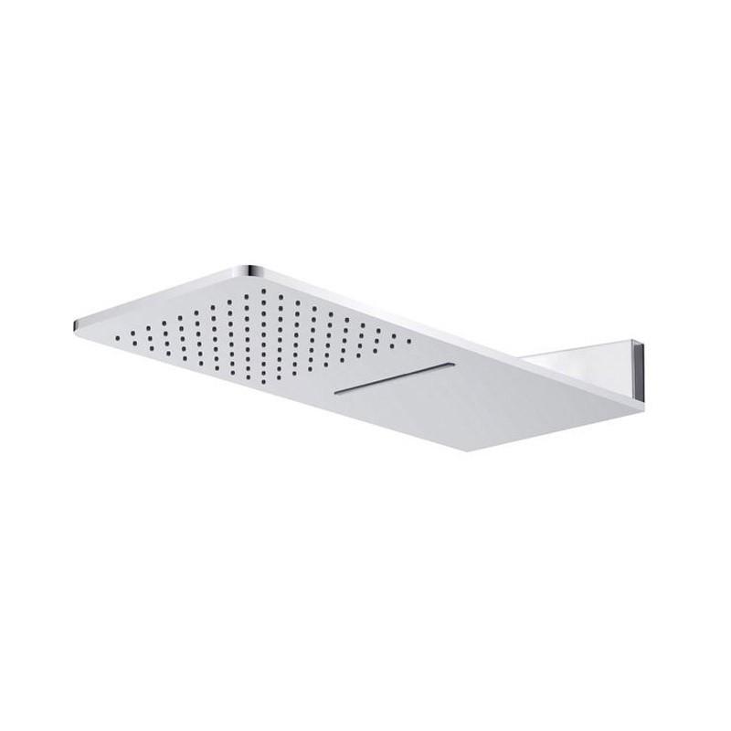 Mereo Tanierová sprcha horná, s vodopádom, hranatá 60x25,1cm, nerez CB495