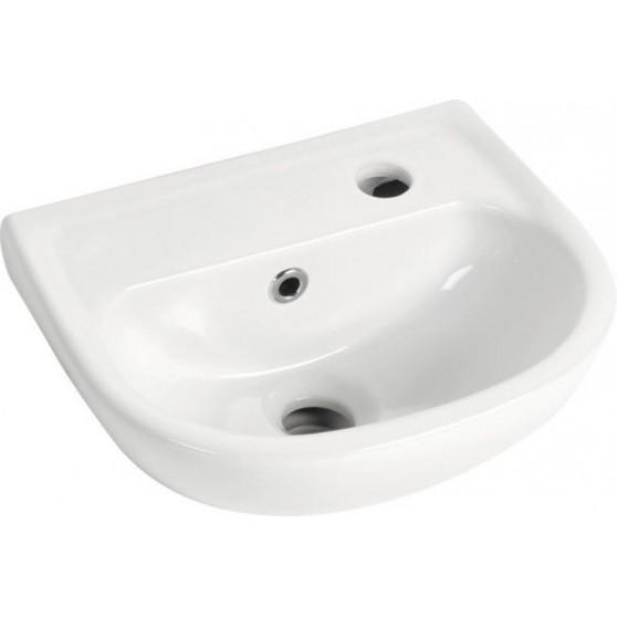 AQUALINE OVAL keramické umývadlo 29x35cm TP135