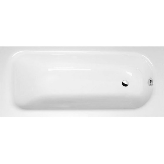 Polysan LAURA obdĺžniková vaňa 170x75x39cm, biela 25611