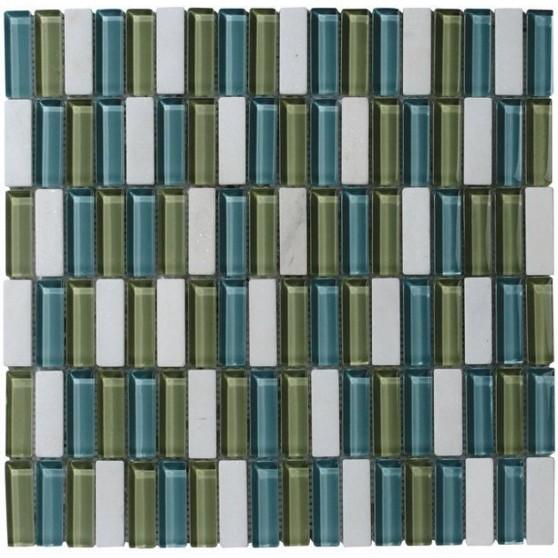 Sapho CORNY MOSAIC (ZYXT011) plato 30x30, 1,5x4,8 cm (bal. 11ks) CMB011