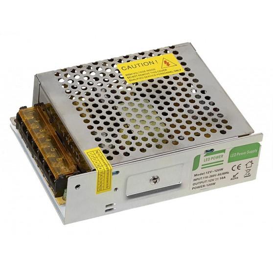 Sapho Led LED driver 120W, 230/12V, plastový, nie je vodotesný LDR120