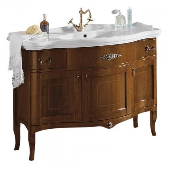 Gallo Wood IRIS INLAY 110-S skrinka s umývadlom, š. 110cm, noce II-110