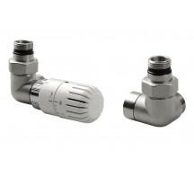 AQUALINE ECO pripojovacia sada ventilov termostatická, l´avé, nikel CP9911L