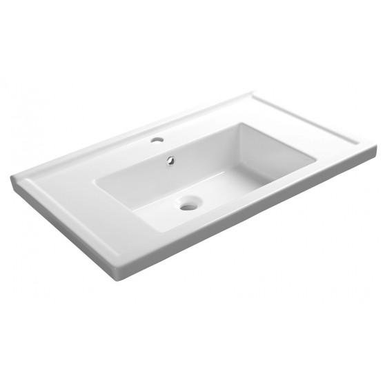 AQUALINE ZENO 80 nábytkové umývadlo 80x48, 5cm 8080