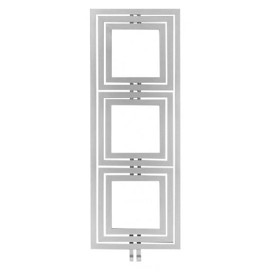 Sapho TRIPOLI vykurovacie teleso 600x1620mm, 741 W, strieborná strukturálna L-616S PO616SS