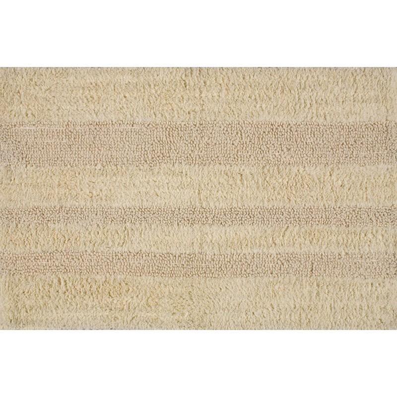 AQUALINE DELHI predložka obojstranná 50x80cm, 100% bavlna, béžová DE508003