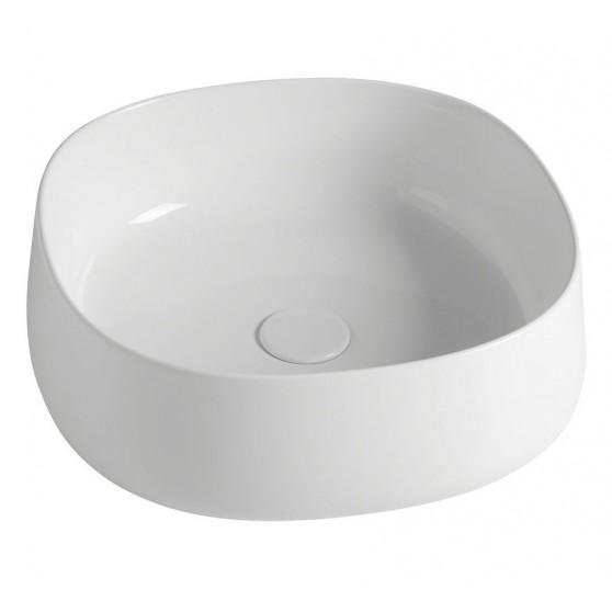 Sapho JUMPER keramické umývadlo 42x15x42 cm, na dosku, bez prepadu WH072
