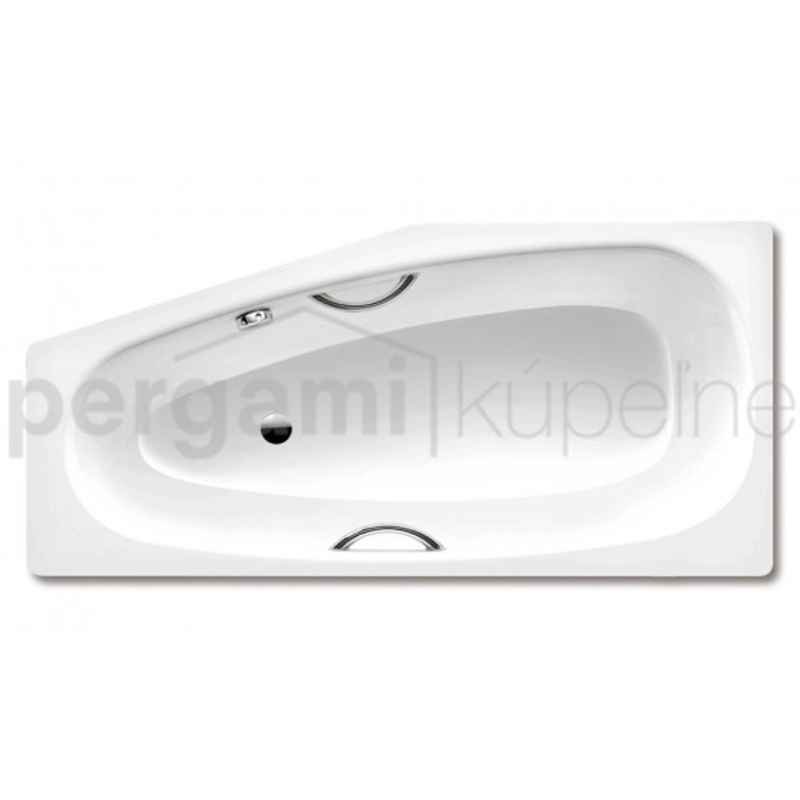 Kaldewei MINI STAR pravá 831, 1570x750/500x430 mm, bílá, antislip 831 224730000001 (224730000001)