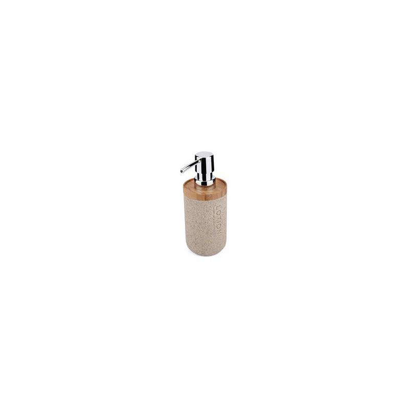 NIMCO - KORA dávkovač na mýdlo 270ml pískově béžová/bambus KO 24031-86 (KO 24031-86)