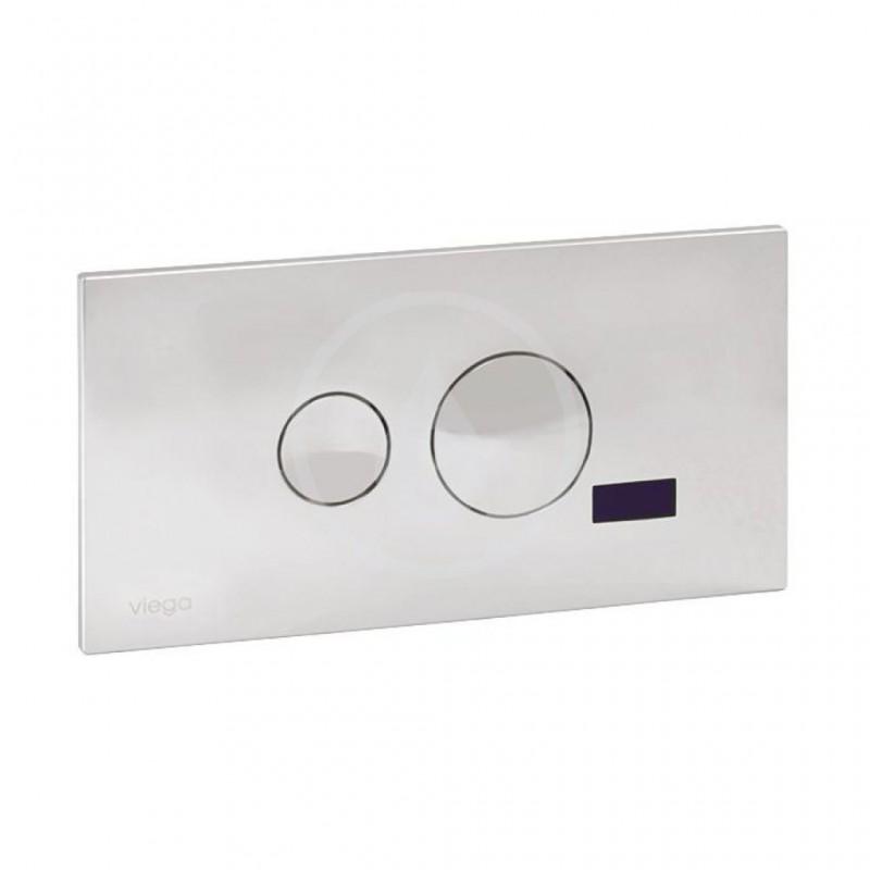 SANELA - Senzorové pisoáry Automatický splachovač WC pro instalační systém Viega Eco Plus, tlačítko For Style 10, 24V DC (SLW 05F)