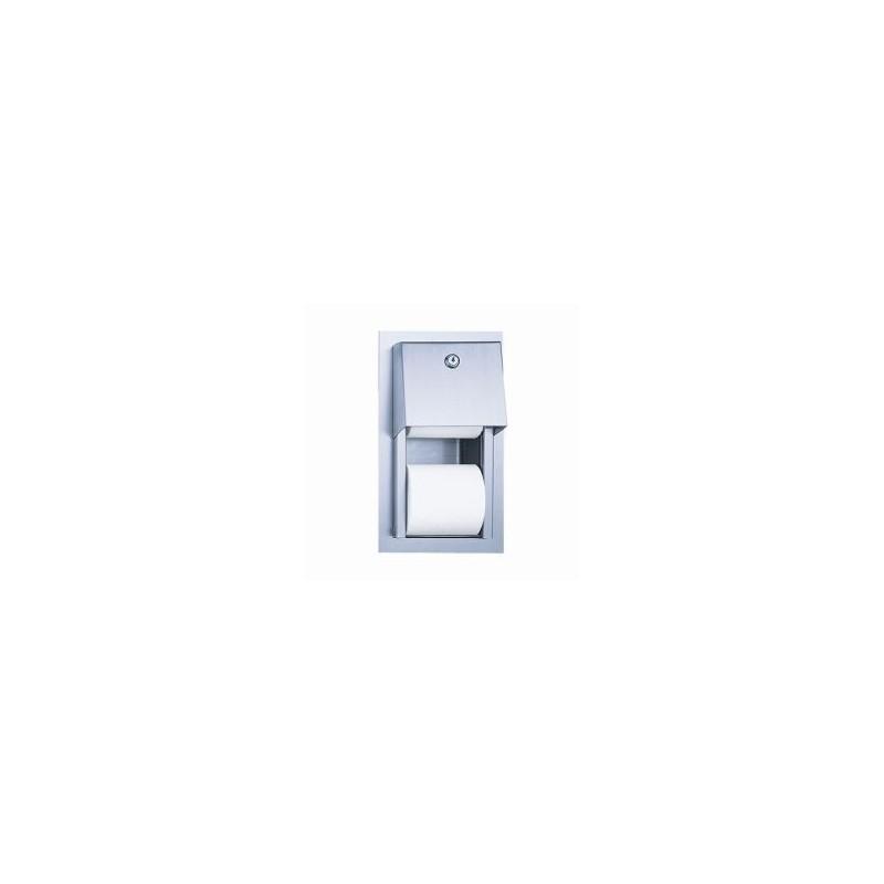SANELA - Nerezové doplňky Nerezový zásobník na toaletný papier (SLZN 26Z)