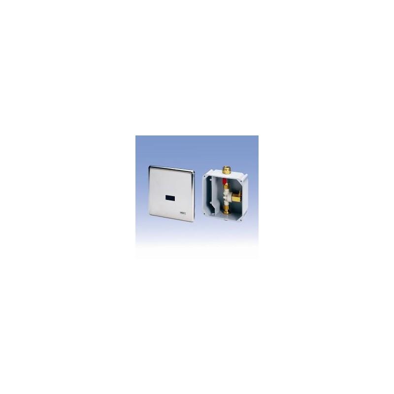 SANELA - Senzorové pisoáry Splachovač pisoáru s montážnou krabicou a integrovaným zdrojom (SLP 02KZ)