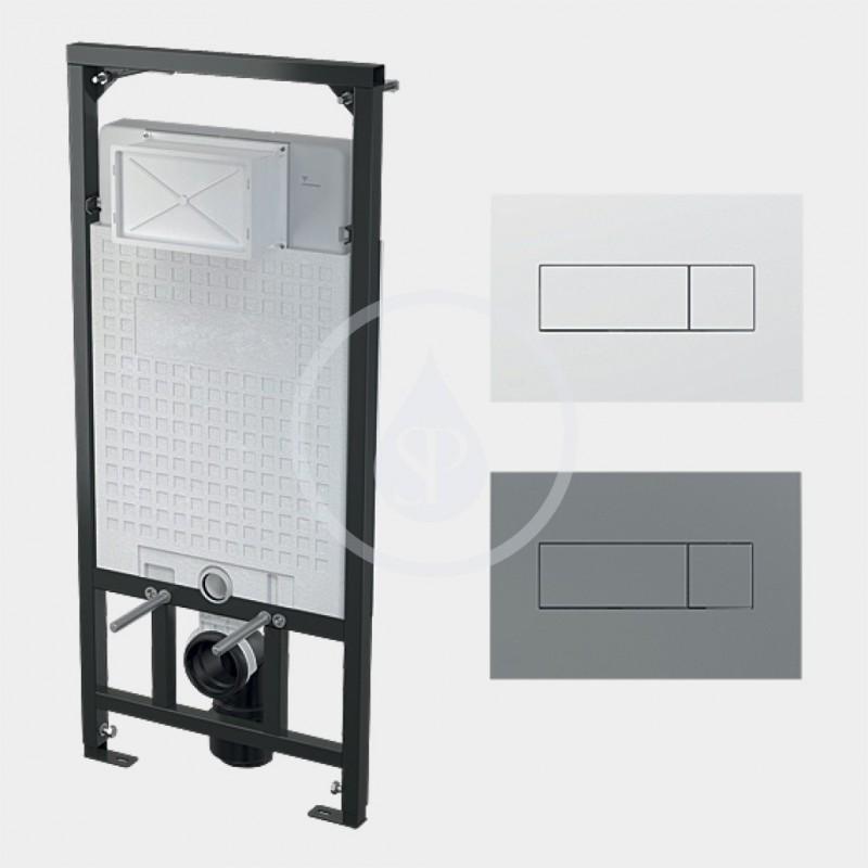SANELA - Příslušenství Montážní rám se splachovací nádržkou pro sádrokartonové konstrukce (SLR 21)