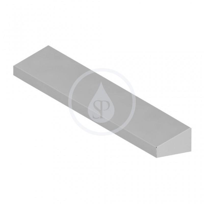 SANELA - Nerezové příslušenství Nerezová police, délka 800 mm (SLZN 65)