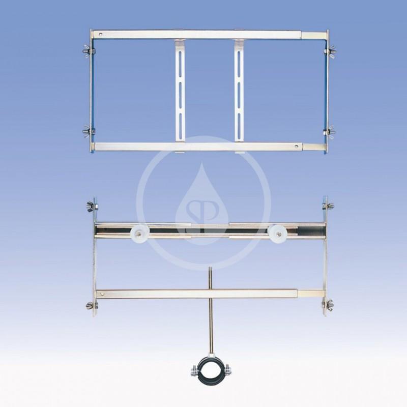 SANELA - Příslušenství Rám do sádrokartonu pro pisoár se senzorem nad pisoárem (SLR 02)
