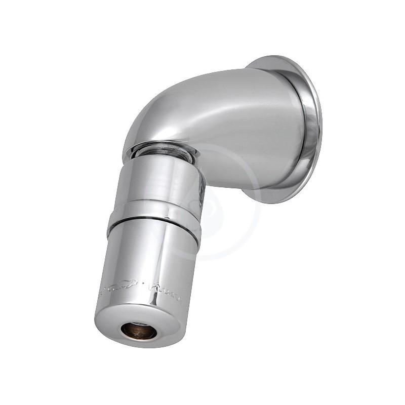 SANELA - Příslušenství Antivandalový sprchový výtok s nastavením úhlu výtoku (SLA 40)