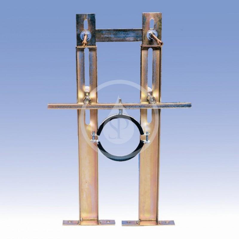 SANELA - Příslušenství Rám pro zděné příčky, závěsná WC se splachovačem SLW 01NK (SLR 03Z)