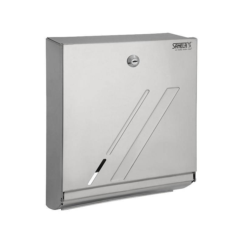 SANELA - Nerez SLZN 03 zásobník pap.ručníky (lesklý) SL 95030 (SL 95030)