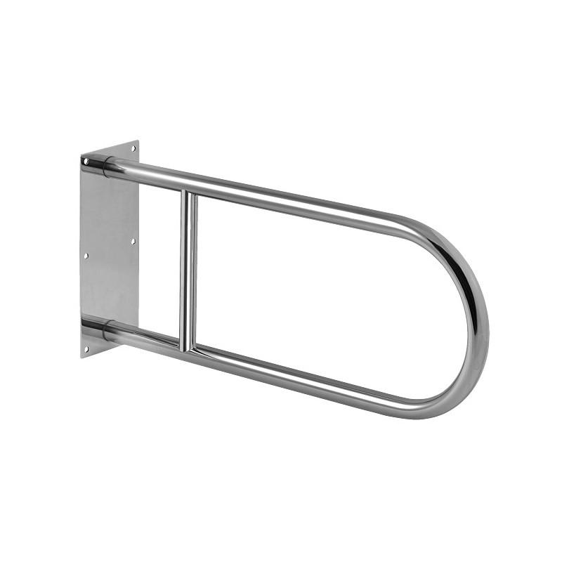 SANELA - Nerez SLZM 03 madlo pevné, délka 550 mm, lesklé SL 49030 (SL 49030)