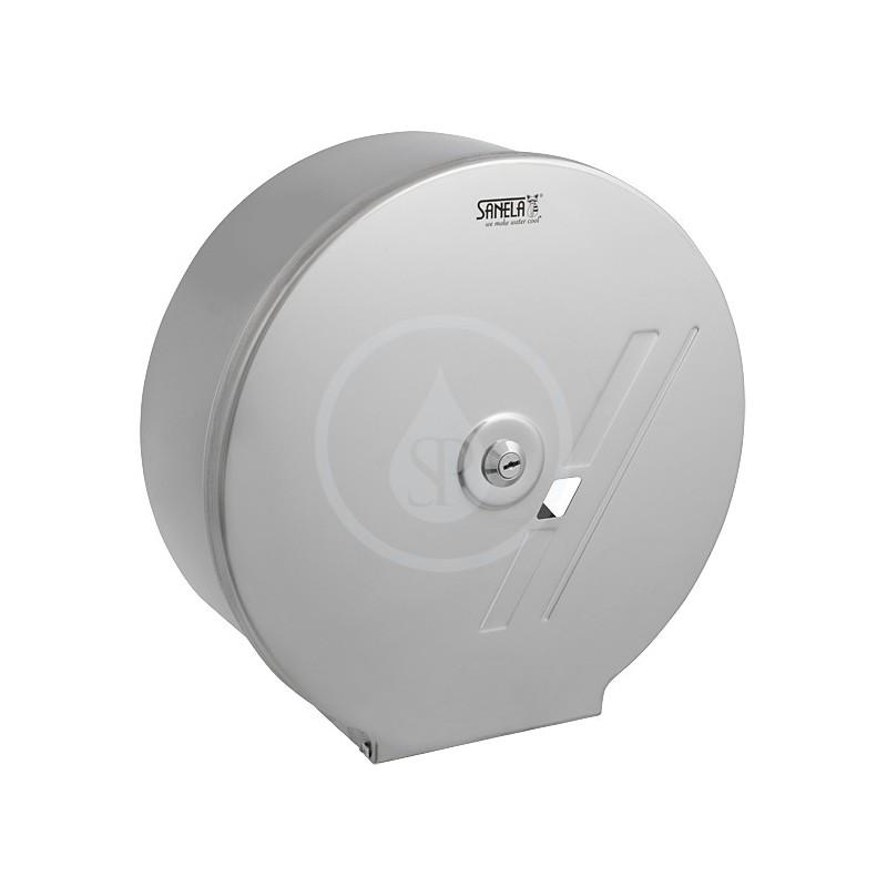 SANELA - Nerezové doplňky Nerezový zásobník na toaletný papier (SLZN 01)