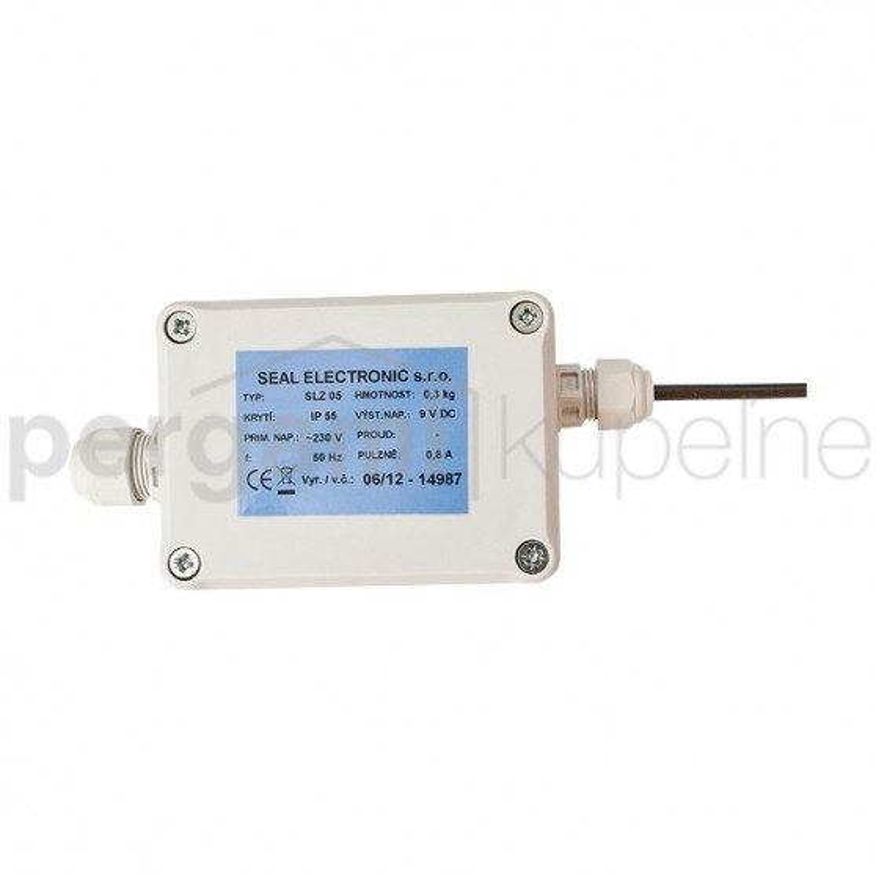 SANELA - Senzor zdroj SLZ05 pro bateriové výrobky, náhrada 9V napájecí baterie SL 05050 (SL 05050)