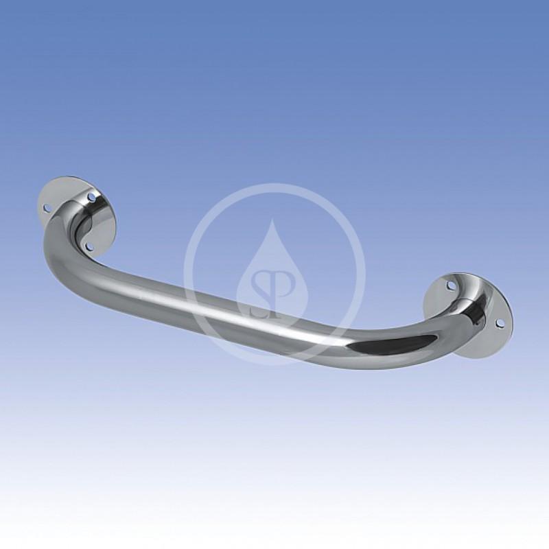 SANELA - Nerezové doplňky Nerezové madlo univerzální, pevné, délka 300 mm, lesklý povrch (SLZM 02)