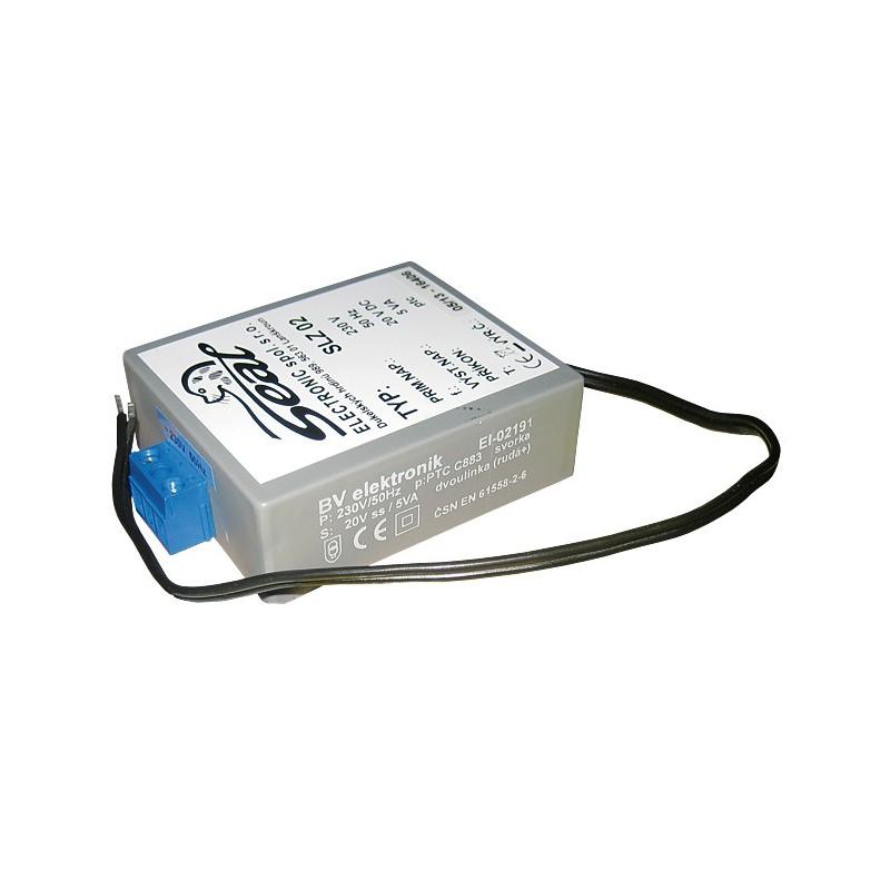 SANELA - Senzor-ND zdrojSLZ02 vestavěný 220/24V SL 05020 (SL 05020)