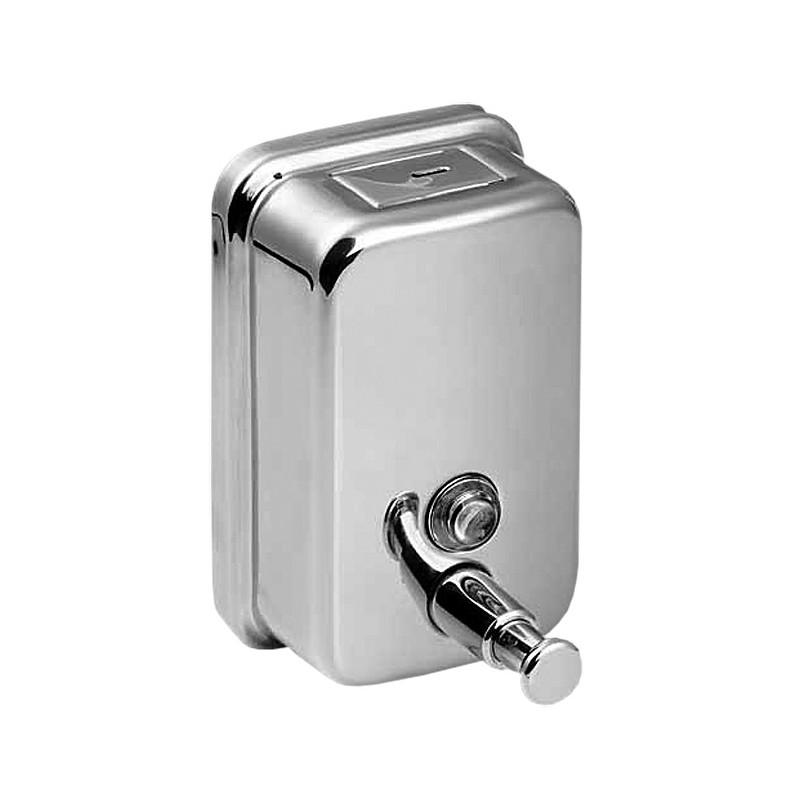 SANELA - Nerez SLZN 06 dávkovač tekutého mýdla, obsah 0,85 l SL 95060 (SL 95060)