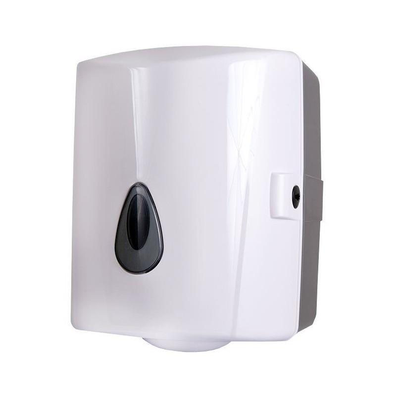 SANELA - Plastové doplňky Zásobník na papírové ručníky v rolích, plast, bílý (SLDN 02)