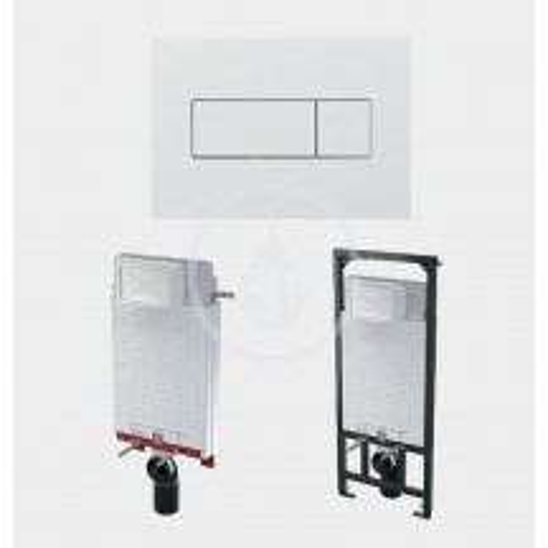SANELA - Příslušenství Ovládací tlačítko pro modul SLR 21, bílé (SLW 50)