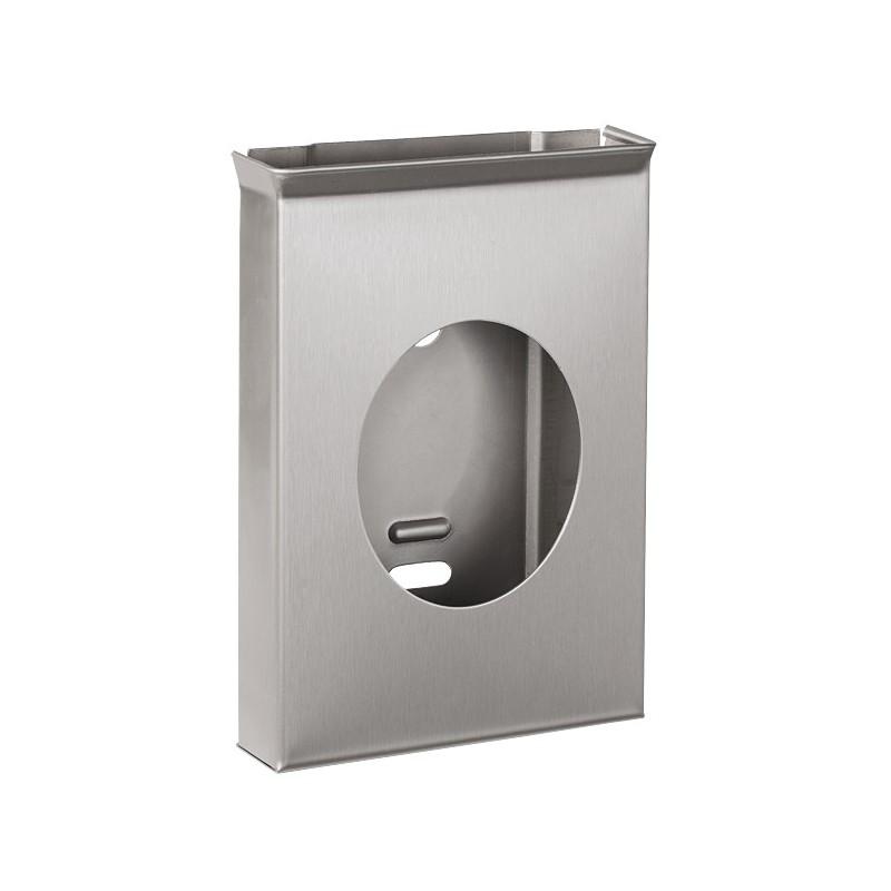 SANELA - Nerez SLZN 53 Zásobník hygienických sáčků matný SL 95530 (SL 95530)