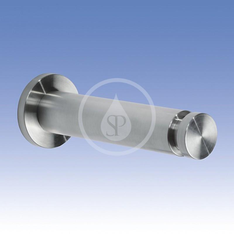 SANELA - Nerezové doplňky Nerezový věšák kulatý dlouhý, povrch matný (SLZN 46D)