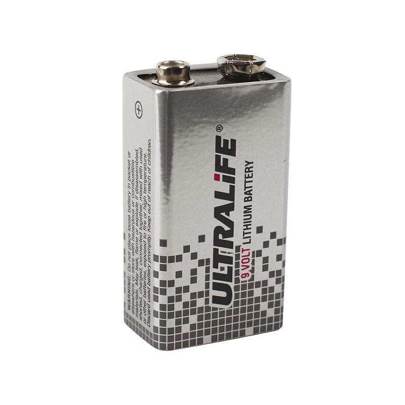 SANELA - Senzor-ND baterie lithiová SLA09 9V/1300mAh, typ U9VL SL 06090 (SL 06090)