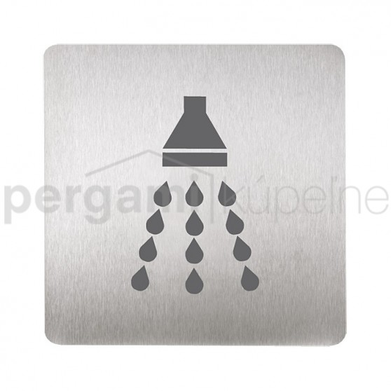 SANELA - Nerez SLZN 44R Piktogram - sprcha SL 95446 (SL 95446)