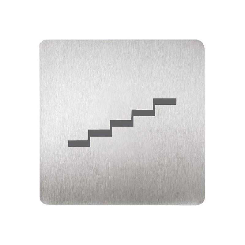 SANELA - Nerez SLZN 44M Piktogram - schody SL 95449 (SL 95449)