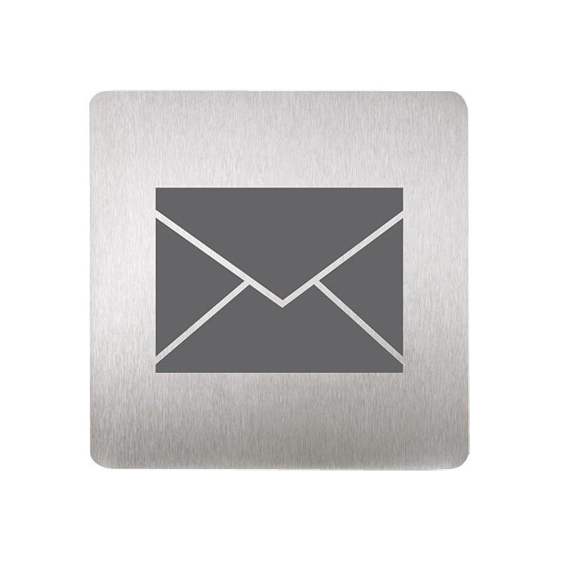 SANELA - Nerez SLZN 44L Piktogram - poštovní schránka SL 85441 (SL 85441)