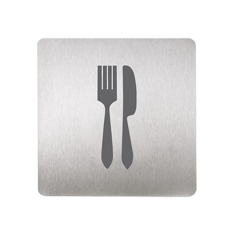 SANELA - Nerez SLZN 44U Piktogram - vidlička a nůž SL 95443 (SL 95443)