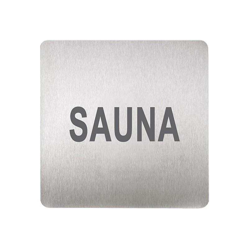 SANELA - Nerez SLZN 44V Piktogram - sauna SL 95442 (SL 95442)