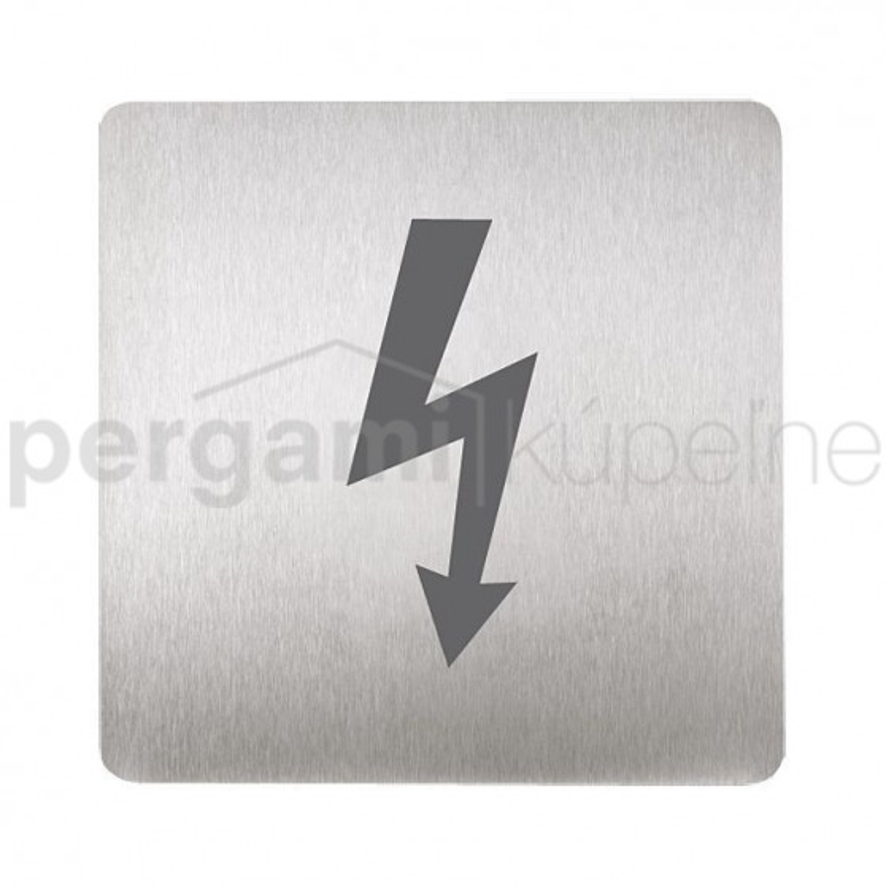 SANELA - Příslušenství Piktogram - pozor elektrické zařízení (SLZN 44P)