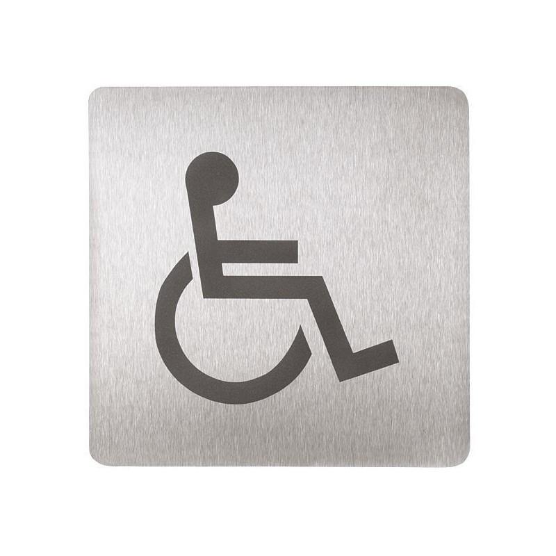 SANELA - Příslušenství Piktogram - WC invalidní (SLZN 44AC)