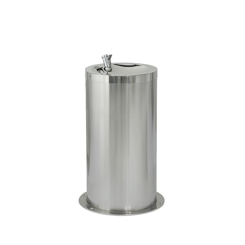 SANELA - Nerez SLUN 23M pitná fontánka na podlahu, v.65cm, snížená pro děti SL 83236 (SL 83236)