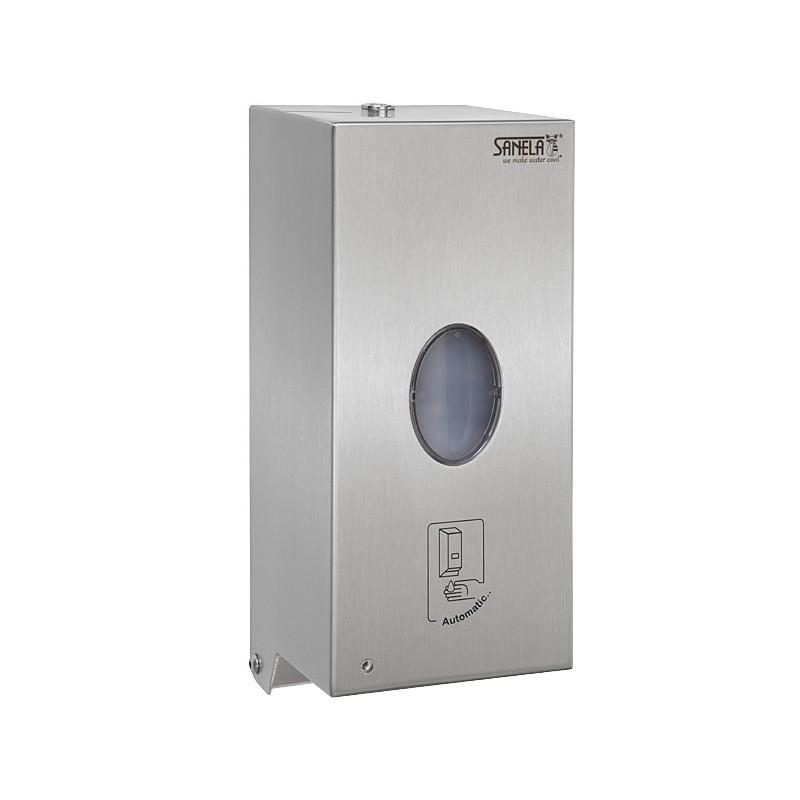 SANELA - Nerez SLZN 71E dávkovač tekutého mýdla a desinfekce 0,85 l, matný, automatický SL 85717 (SL 85717)