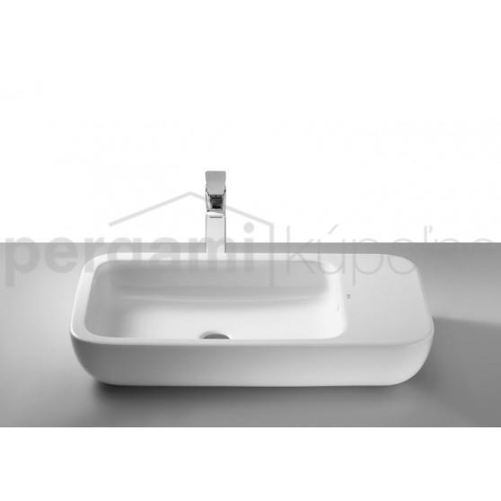 ROCA - Studio line - umyvadlová mísa KHROMA 750 bílá, bez přepadu (A327655000)