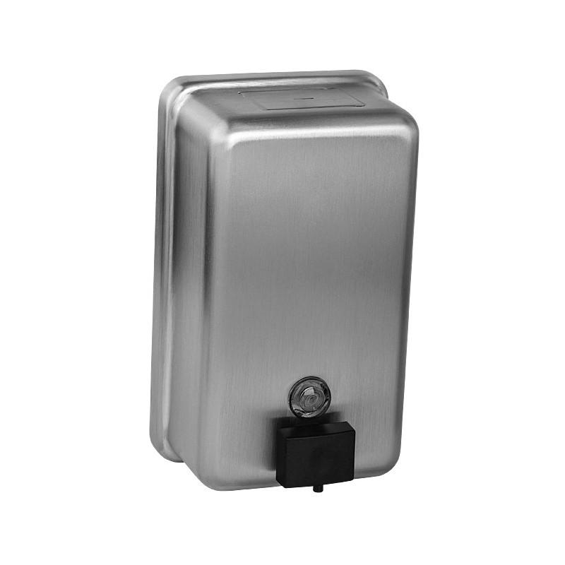 SANELA - Nerez SLZN 39 dávkovač tekutého mýdla, 1,2 l, matný SL 95390 (SL 95390)