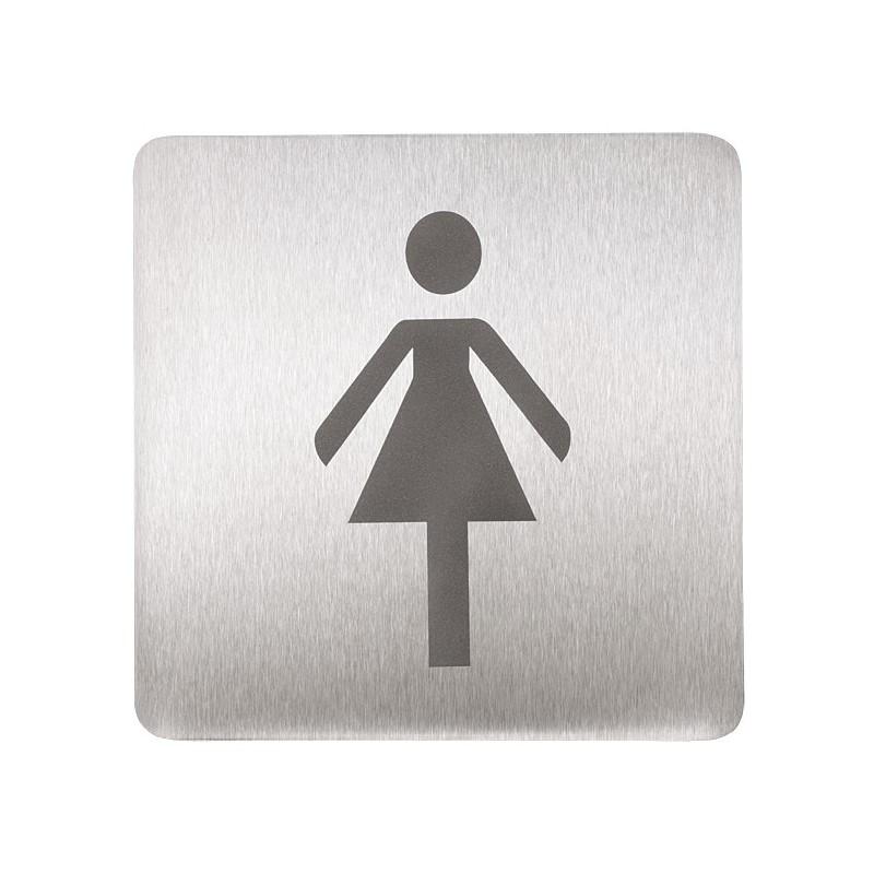 SANELA - Nerez SLZN 44AB Piktogram - WC ženy SL 75444 (SL 75444)