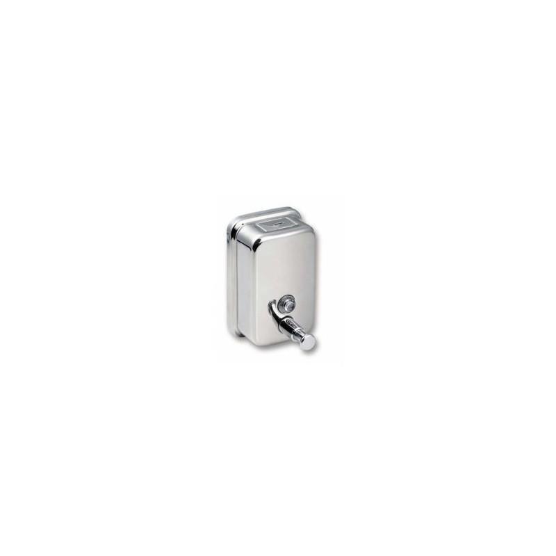 SANELA - Nerezové doplňky Nerezový dávkovač tekutého mydla, obsah 0,5 l (SLZN 07)