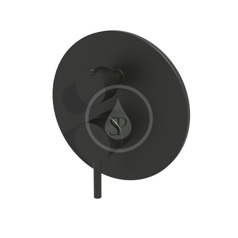 PAFFONI - Light Baterie pod omítku pro 3 spotřebiče, černý mat (LIG019NO)