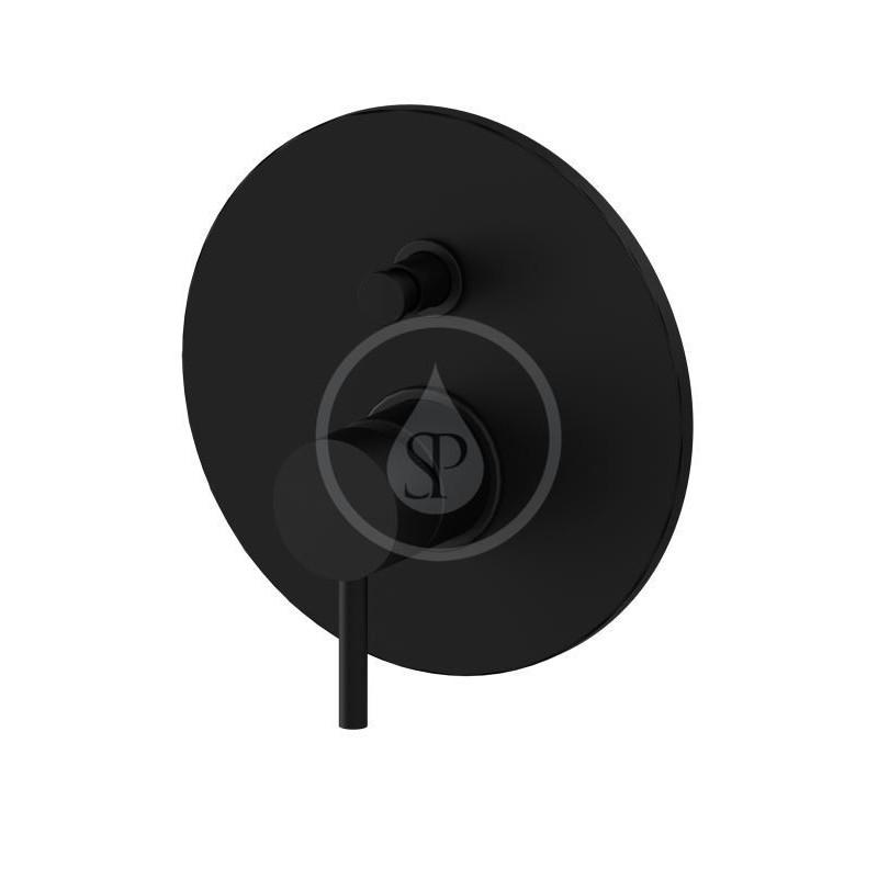 PAFFONI - Light Baterie pod omítku pro 2 spotřebiče, černý mat (LIG015NO)